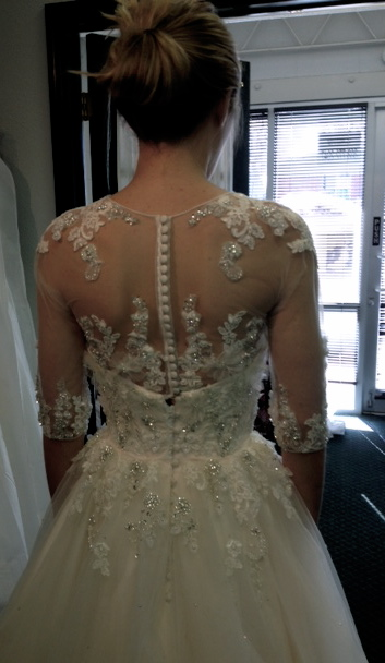 Let\'s see your detailed back wedding dresses!