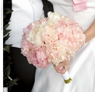 Light Pink Peonies Bouquet light pink peonies bouquet