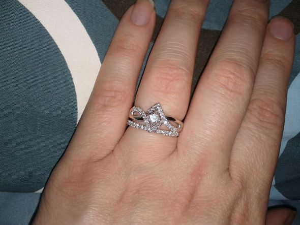 Hubby Suprised Me With An Engagement Ring