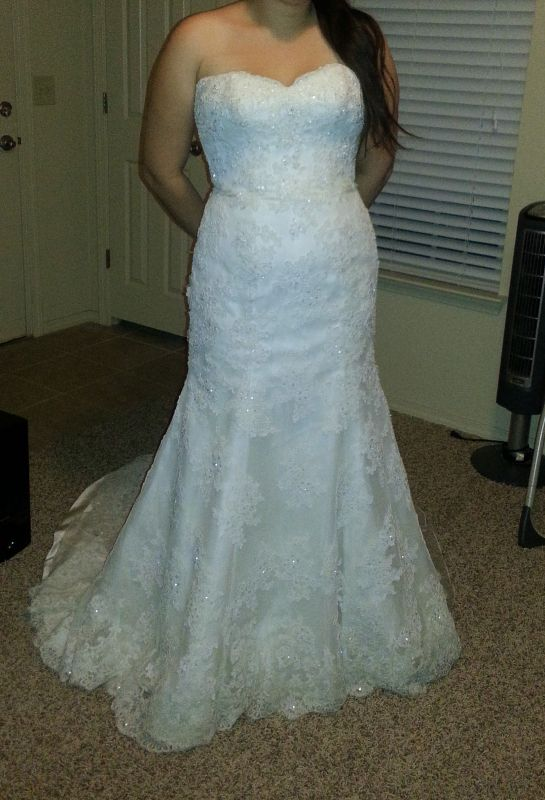 Is it possible to alter a mermaid gown into a modified a-line?