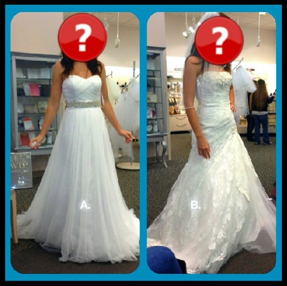 HELP!?! Which dress? I have narrowed it down to 2!