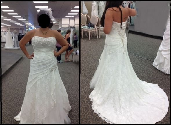 Adding Cap Sleeves Or Straps To A Lace Dress?