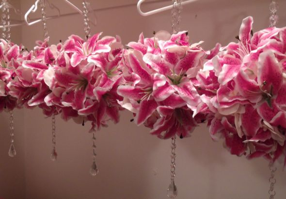 Diy Wedding Flowers Weddingbee : Diy stargazer lily orchid pomanders weddingbee photo