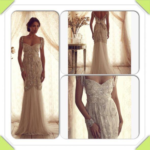 Anna campbell wedding dress IN LOVE!!!