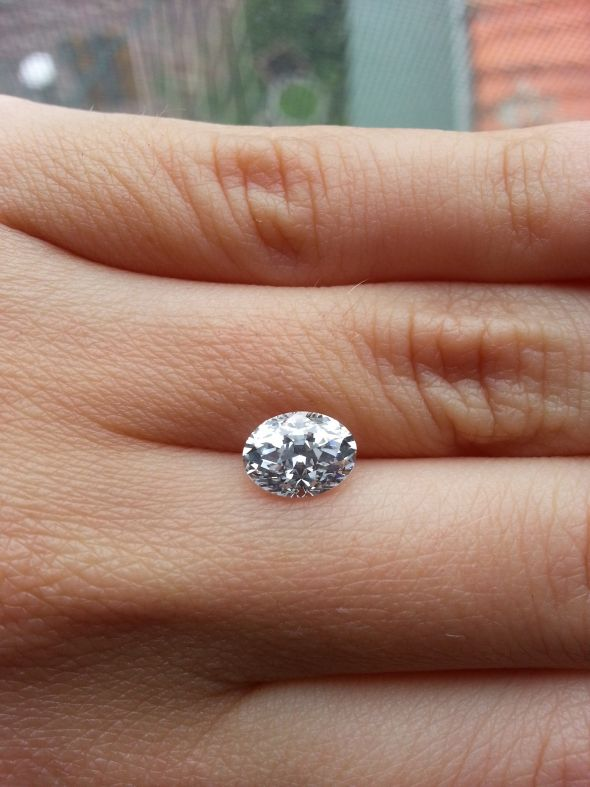 moissanite compare diamond pics asha real photo topic
