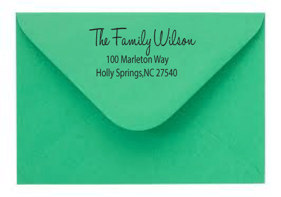 Can You Use A Return Address Stamp For Rsvp