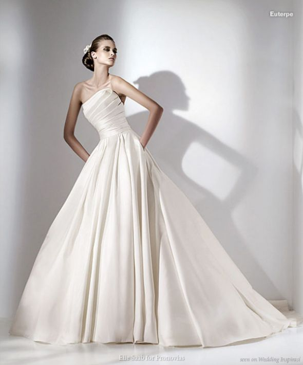Any Elie Saab Euterpe real-life brides out there? Sample sale score!!