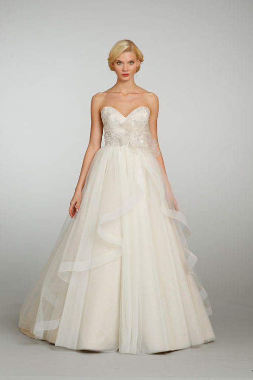 Help! Has anyone worn this dress?! (Jim Hjelm Bridal – JH8301)