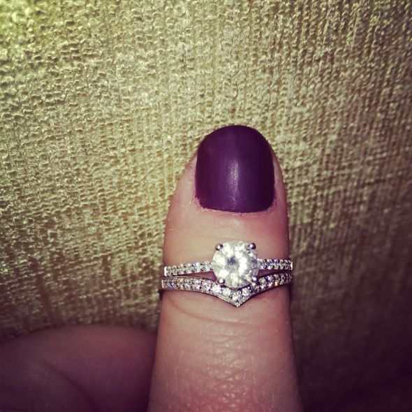 Cubic Zirconia Engagement Rings Page 2