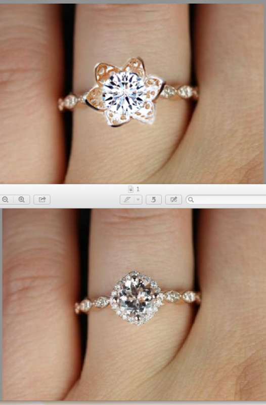 Final decision on engagement ring your opinions