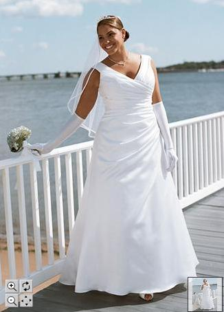 plus size  davids bridal