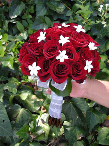 artificial wedding flower bouquets