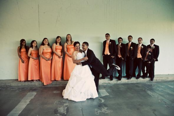 Our Bridal Party and Groosmen wedding Elena Luis Wedding 701