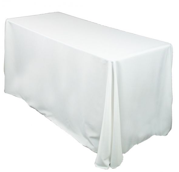white table linens rectangle rustic wedding decor wedding rustic modern