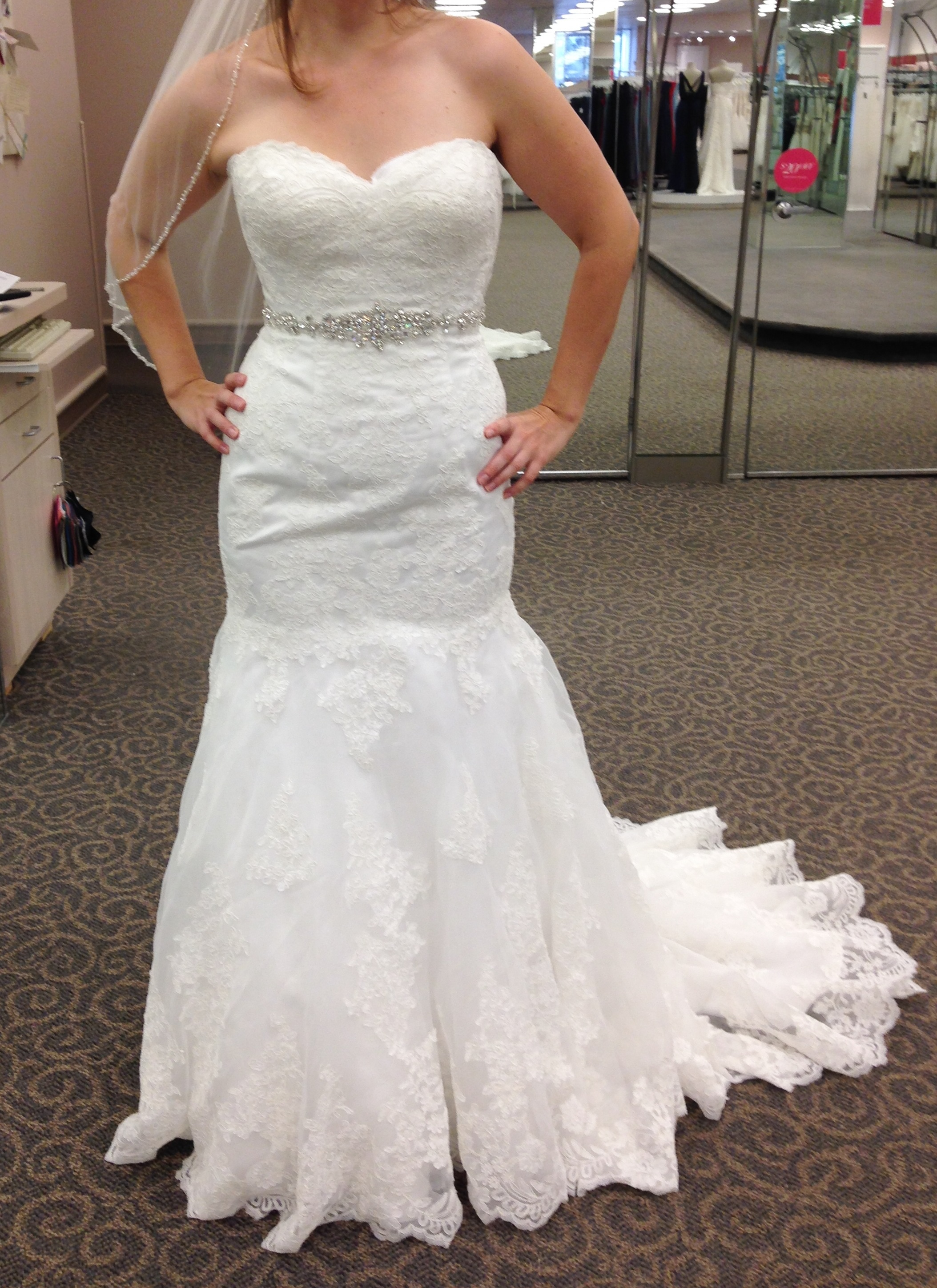 David's Bridal Off the Rack