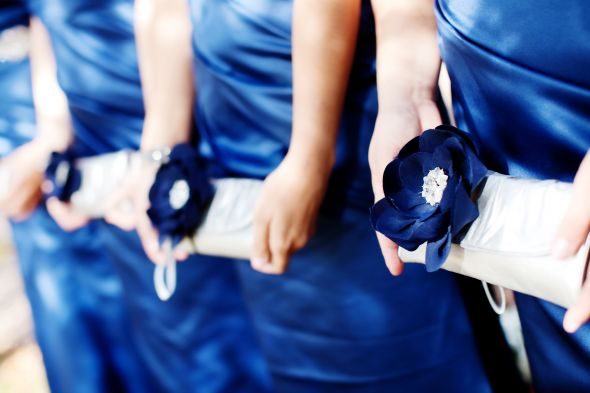 DIY Bridesmaid clutch