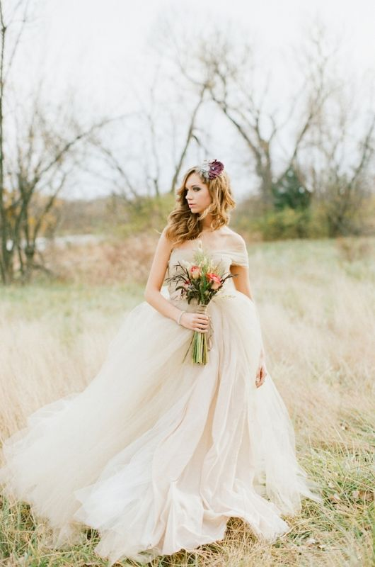 Wedding dress! Whimsical tulle ballg