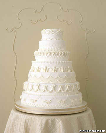 wedding wedding cake detail buttercream martha stewart glamour Msw Fall