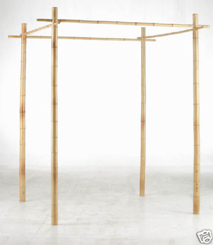 a bamboo wedding arbor search on eBay for the seller pole provider