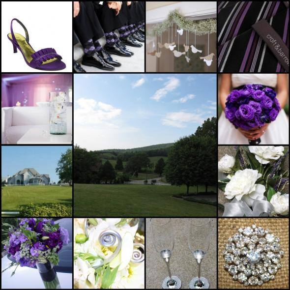 Those are my shoes for my purple wedding too I looked everywhere for those