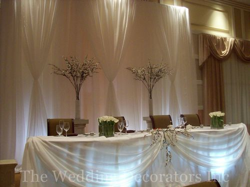 Head Table Decor Idea Help!