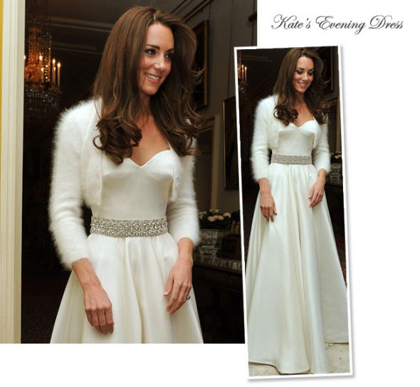 Kate 39s Reception wedding Kate Middleton Evening Wedding Dress
