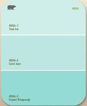 Ice Blue Jazz Paint Code
