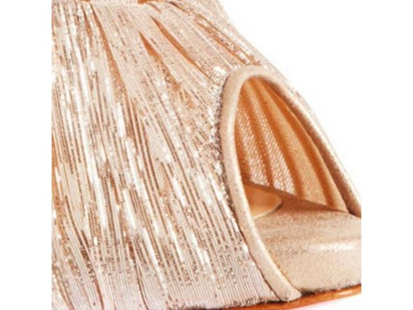Christian Louboutin Chichi Pumps - color: Nude & Gold