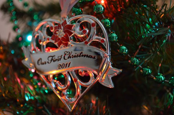 our first christmas ornament