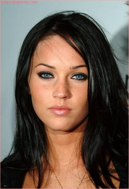 Make-Up advice for the freckley : wedding Megan Fox Freckles
