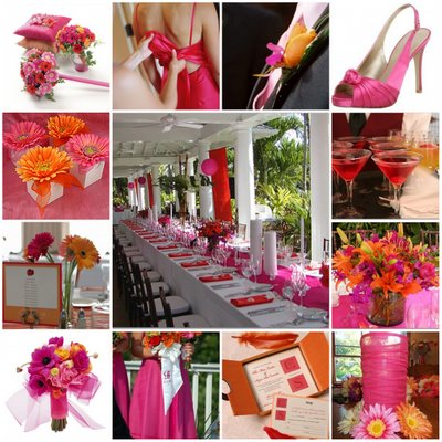 May 21 Tangerine Fuschia Wedding ideas needed Weddingbee Boards