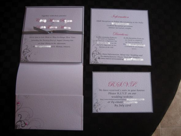 using Website for RSVP wording on RSVP cards wedding Invites2