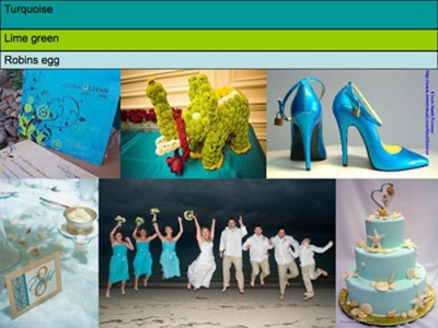 Color combo help wedding colors turquoise S3 1 year ago