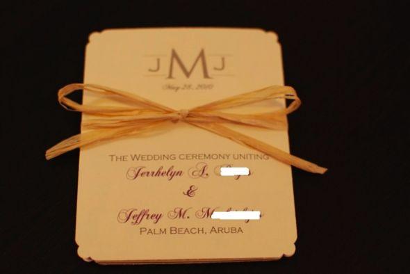 My accordion wedding program wedding wedding program template tissue