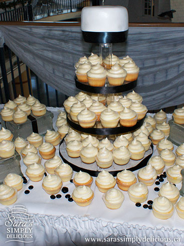 Wedding cupcake display ideas via bios weddingbee com
