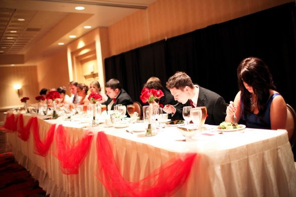 Married Bees Post Pics of your Head Table wedding Head Table