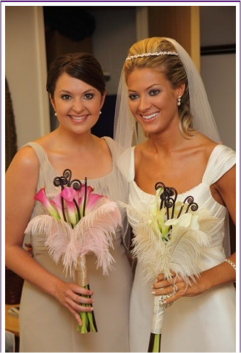 Feather bouquets can I see your pics please wedding Feather