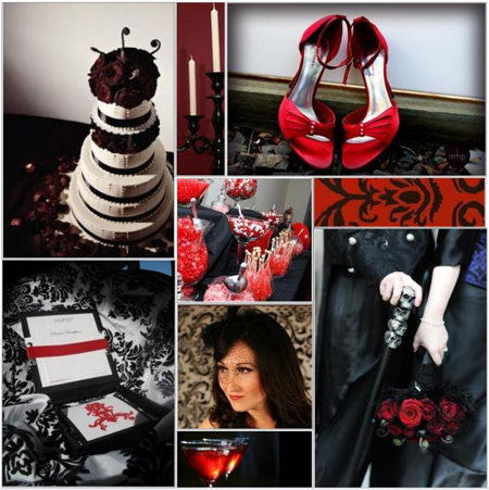Victorian Gothic Halloween Wedding Ideas wedding Vintage Halloween Wedding