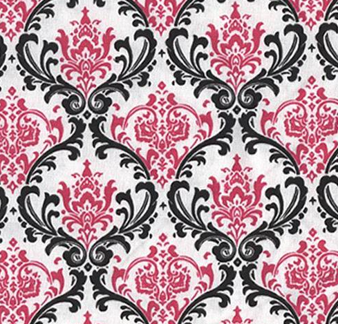 I have black white pink damask table runners squares available for renting