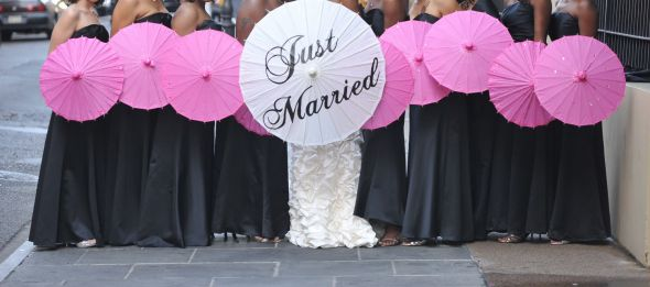"60"" White Wedding Umbrellas - Wholesale Distributor, Buy Wholesale"