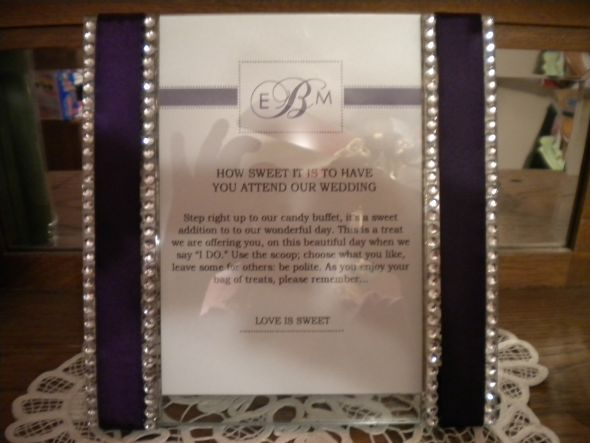 plain zebra print and purple wedding invitations