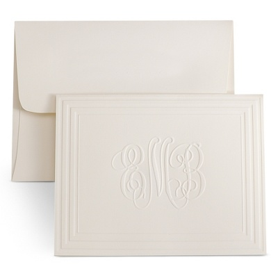 Affordable embossed Thank You Cards?