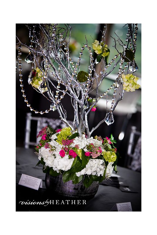 DIY Manzanita Branch/Curly Willow Branch Centerpieces ...