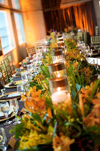 adding green or orange or turquoise to the mix need wedding decor