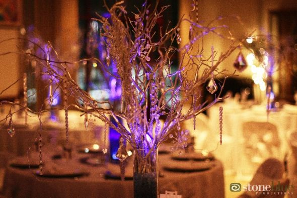 DIY Manzanita Branch/Curly Willow Branch Centerpieces :