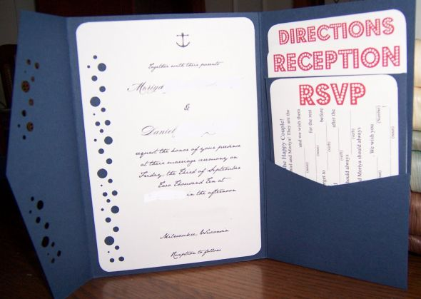 My diy invitations are finished solutioingenieria