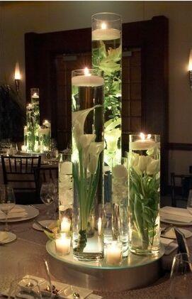 Decoration Fleur Submerge Mariage
