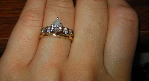 Shanyal S Blog My Rings The Wedding Band With A Bump At