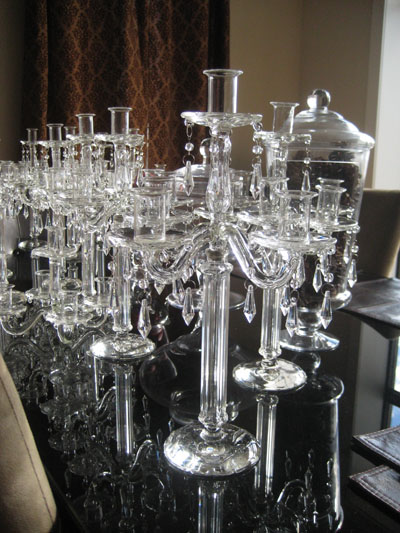Candle centerpieces for sale images