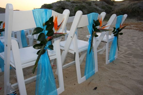 wedding chair decor Chair Sash